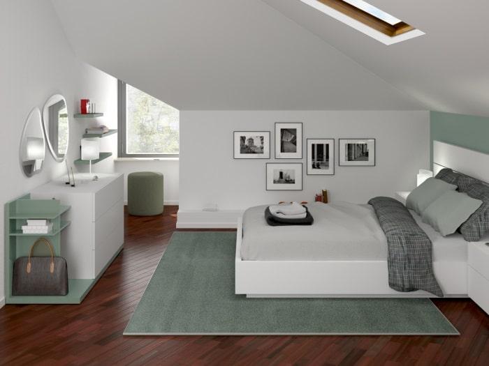 Sei in cerca di ispirazione per l'arredamento della tua camera da letto? Idee I Nostri Progetti Camera Da Letto In Una Mansarda Di 15 Mq Diotti Com