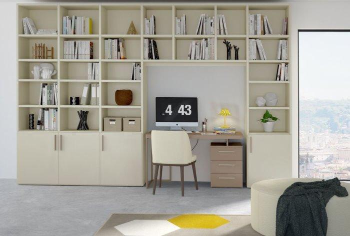 Acquistare una parete attrezzata classica permette di avere un arredo multifunzione che integra porta tv, libreria e vani contenitori in una. Idee Ricavare Un Angolo Computer In Soggiorno Diotti Com