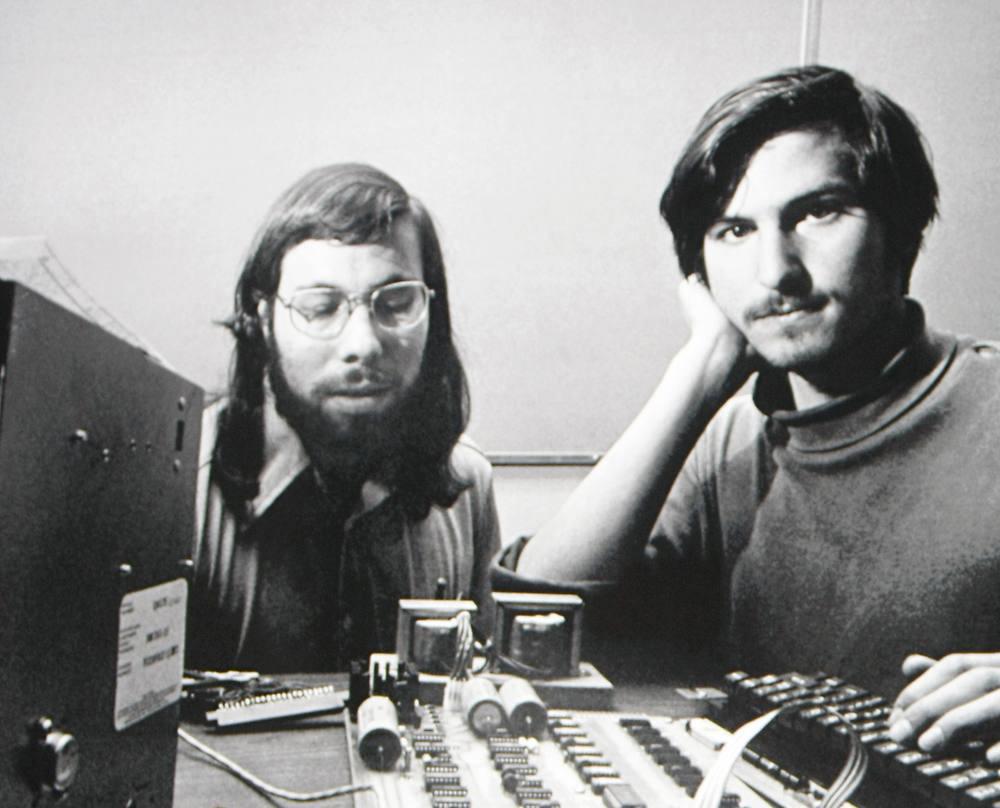Woz e Jobs, 1976
