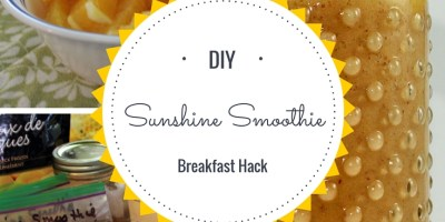 Sunshine Smoothie Breafast Hack