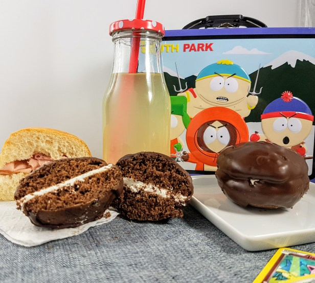 Chocolate Covered Whoopie Pie
