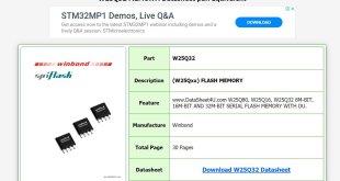 led tv ic datasheet downloading process