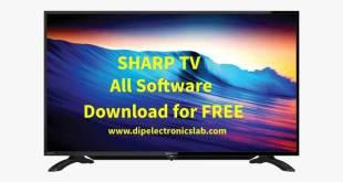 sharp tv software download