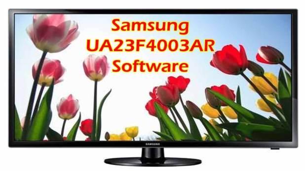 Samsung UA23F4003AR Software