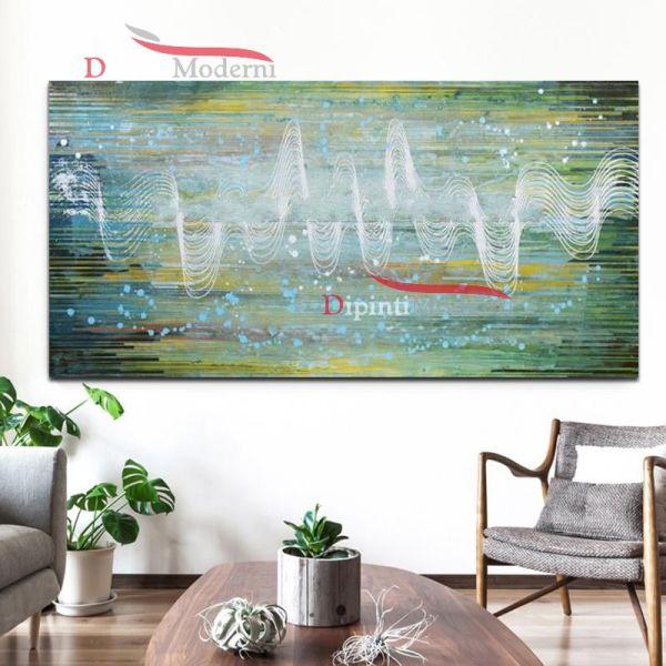 Quadro su tela decorativo arte moderna