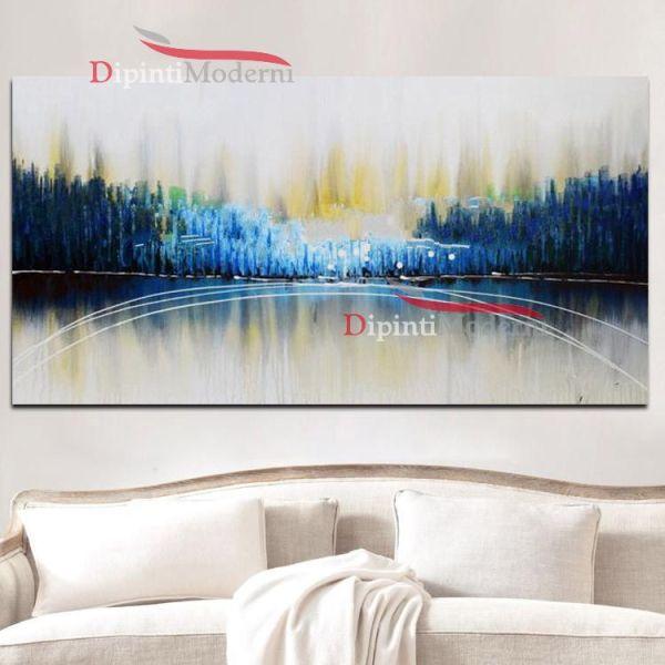Dipinti su tela astratti soggiorno