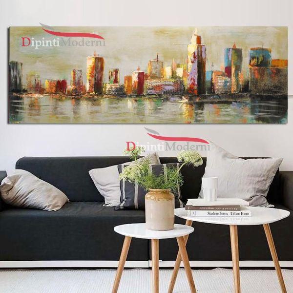 Quadro grattacieli america new york su tela