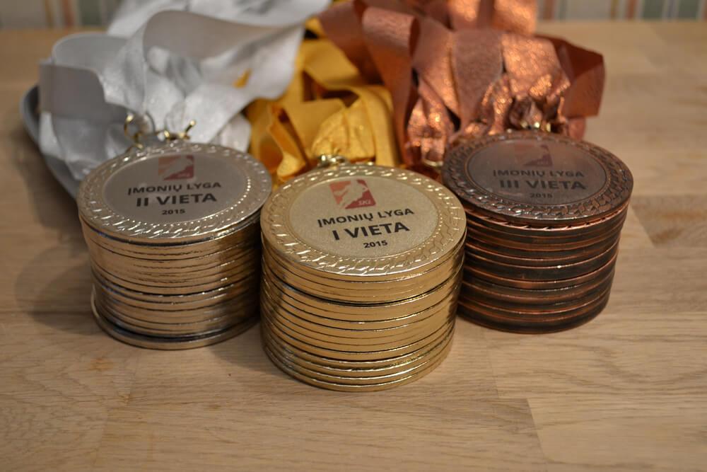 Medaliai SKL turnyrui
