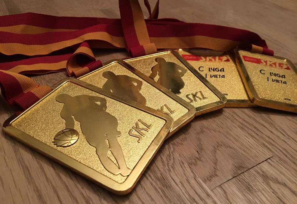 SKL krepšinio medaliai