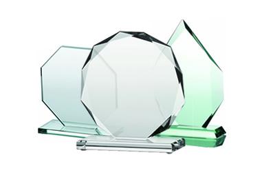Stikliniai apdovanojimai įvairioms progoms