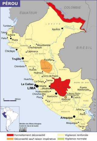 Map of Peru (Source » France, June 2021)