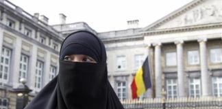 Belgio niqab burka sharia