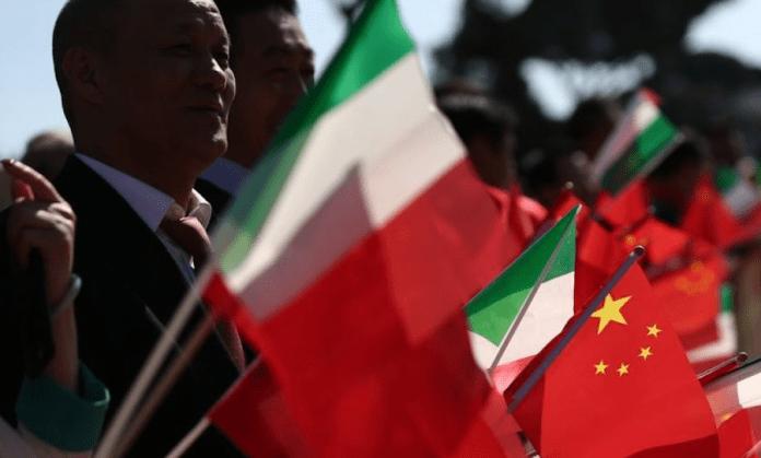 Italia Cina interessi nazionali