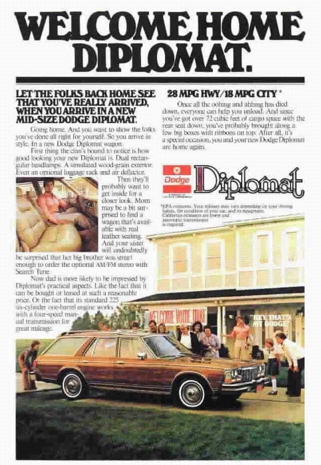 1987 Dodge Diplomat Grille