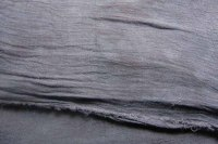 Charcoal bubble gauze