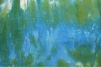 Blue green gutter dye
