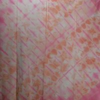 Pink and Salmon Muslin Vat Square 45""