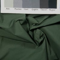 Medium dark grey green