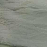 Pale green shibori mousseline (silk chiffon)