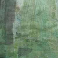 Green-brown-grey monoprint