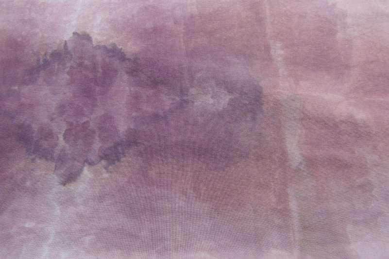 "Snow-dyed Purple Print Cloth 42"" wide"