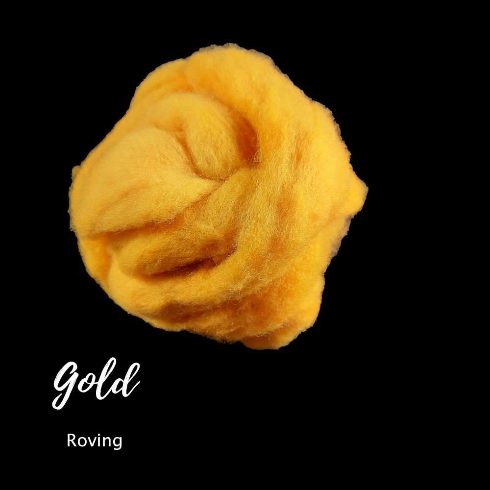 Gold Roving