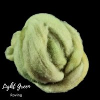 Lilght green roving