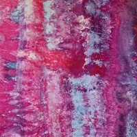 PInk and purple snow-dye full width