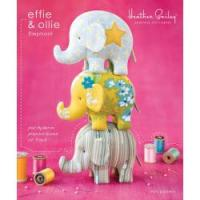 Effie & Ollie Elephant Pincushion/Toy