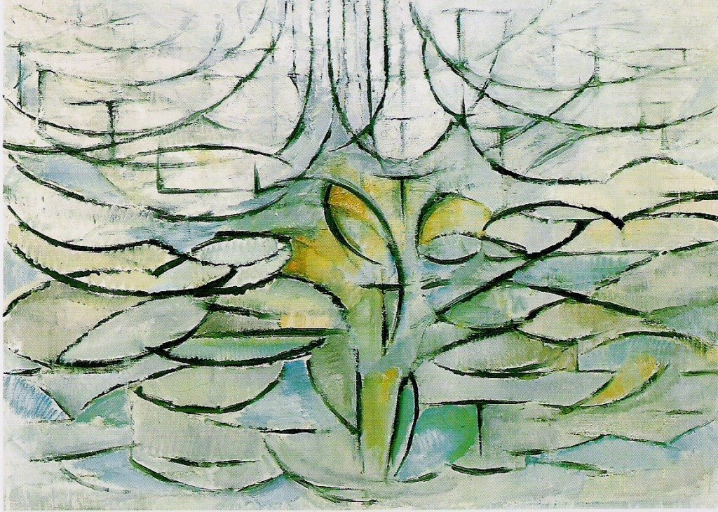 Pommier en fleurs, 1912 (Piet Mondrian, 1872-1944)
