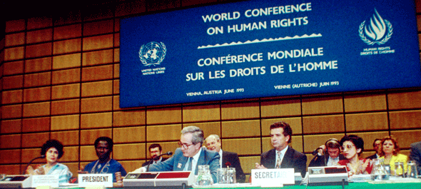 World Conference on Human Rights Held 14-25 June 1993