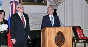 La Argentina y Rusia conmemoran 130 años de relaciones diplomáticas.