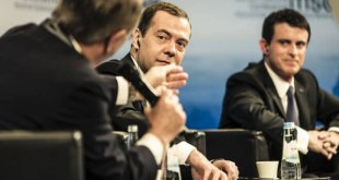 Russian Prime Minister Dmitry Medvedev was sent to the 2016 Munich Security Conference to speak on Russia's behalf.