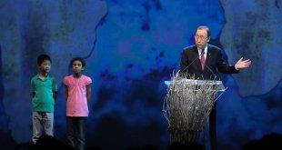 El Secretario General, Ban Ki-moon, abre la I Cumbre Humanitaria Mundial en Estambul