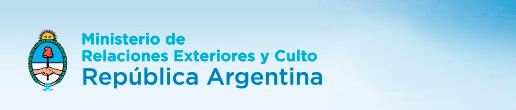 Ministerio de Relaciones Exteriores y Culto de la República Argentina