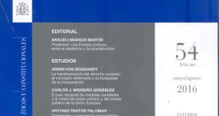 Revista de Derecho Comunitario Europeo: núm. 58
