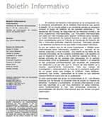 BOLETÍN INFORMATIVO DEL INSTITUTO DE DERECHO INTERNACIONAL