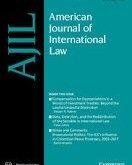 American Journal of International Law AJIL
