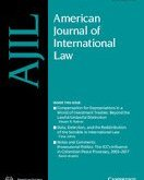 New Issue: American Journal of International Law