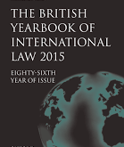 New Volume: British Yearbook of International Law