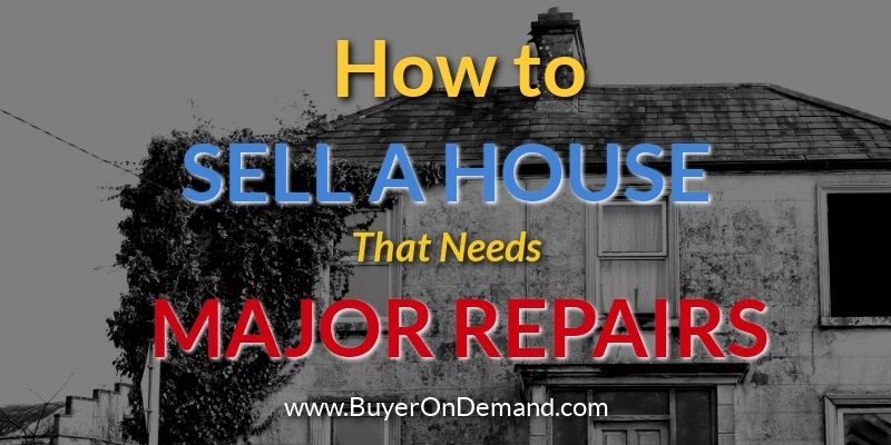 How To Sell A Damaged House In Charleston