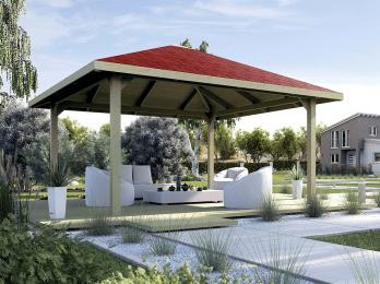 pergola bois toit de terrasse