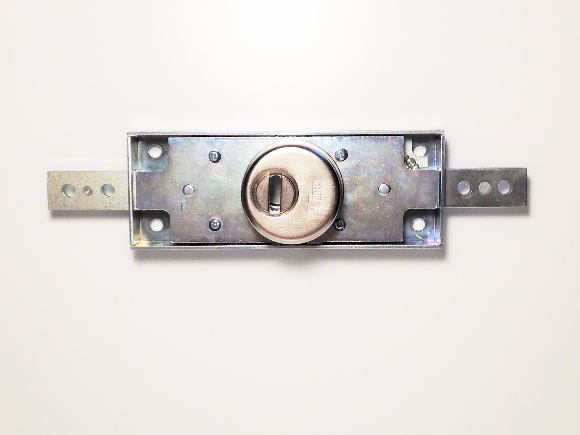 Serrure Pour Rideaux Metalliques Et Porte De Garages Viro