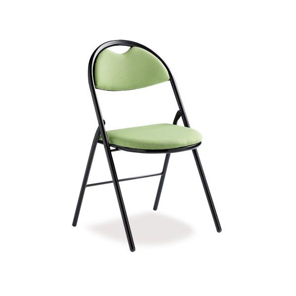 lot de 4 chaises pliantes lucie tissu non feu m1 king
