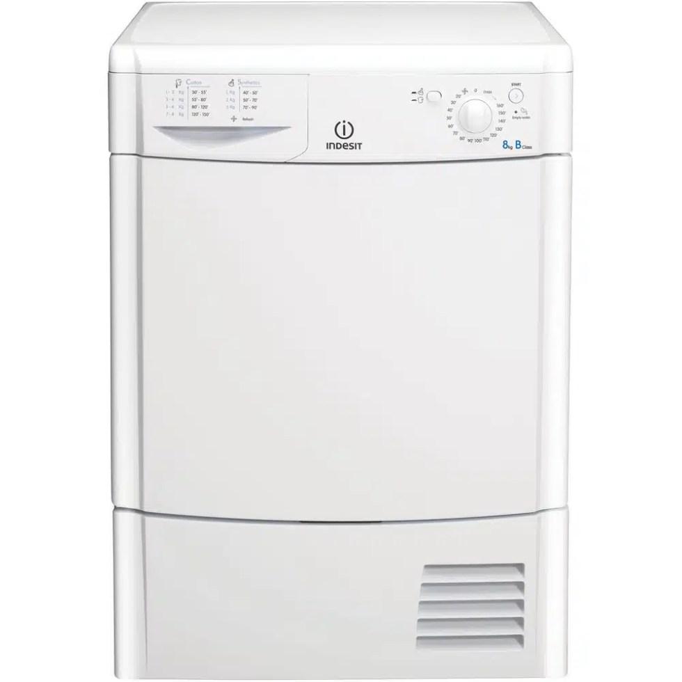 Indesit IDC8T3B-UK Condenser Dryer