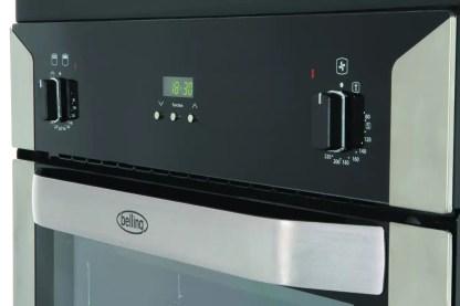 Belling BI90FP BLK Double Oven
