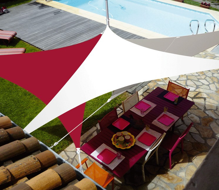 voile d ombrage extensible 5m