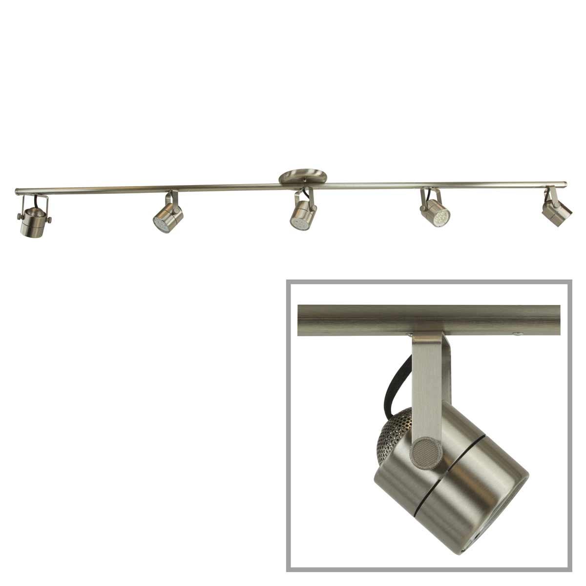 led track lighting kit light bar track