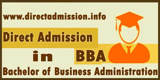 Direct Admission in BBA