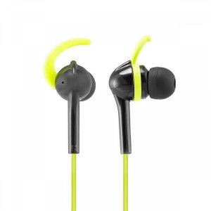 6dfae55d301 Wicked Audio WI3351 Fang Anchor Fit Earbud, Black/Lime. Wired Cellular  Headsets